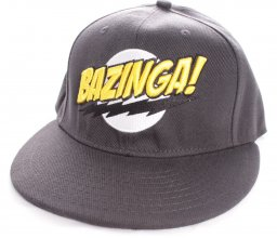 The Big Bang Theory Adjustable Cap Bazinga Black