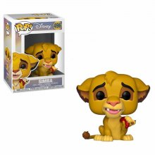 The Lion King POP! Disney Vinylová Figurka Simba 9 cm