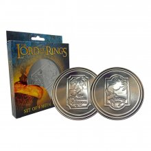 The Lord of the Rings podtácky 4-Pack Green Dragon