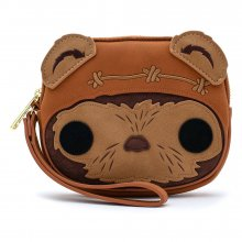 Star Wars POP! by Loungefly Coin/Cosmetic/Wristlet Bag Wicket He