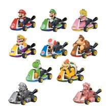 Mario Kart Pull Back Cars Mystery Pack Display (12)