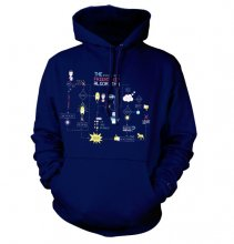The Big Bang Theory Hoodie Friendship Minions Algorithm