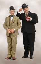 Laurel & Hardy Akční figurka 2-Pack 1/6 Classic Suits Limited Ed