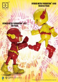 DC Comics Hybrid Metal Action Figure 2-pack Reverse Flash & The