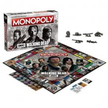 Walking Dead (AMC) desková hra Monopoly *French Version*