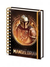 Star Wars The Mandalorian Wiro poznámkový blok A5 Bounty Hunter