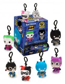 DC Comics Mystery Mini Plushies Plush Keychain 7 cm Display (12)
