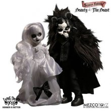 Living Dead Dolls Scary Tales Beauty and the Beast Doll Set 25 c