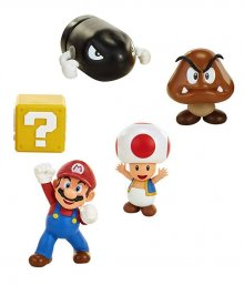 World of Nintendo mini figurka 5-Pack New Super Mario Bros. U Ac