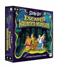 Scooby-Doo desková hra Escape from the Haunted Mansion - A Coded
