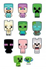 Minecraft Mobbins mini figurky 5 cm Series 1 Blind Boxes Display