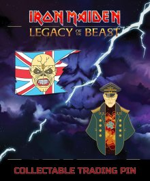 Iron Maiden Legacy of the Beast 2-pack Odznak Trooper Eddie &