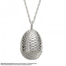 Game of Thrones Pendant & náhrdelník Dragon Egg (Sterling Silver