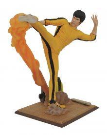 Bruce Lee Gallery PVC Socha Kicking 25 cm
