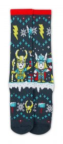 Marvel ponožky velikost 39-46 Case Thor Ugly Christmas Sweater E