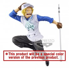 One Piece magazine PVC Socha Sabo Special Color Version 13 cm