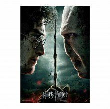 Harry Potter skládací puzzle Harry vs Voldemort