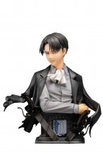 Attack on Titan Socha 1/3 Levi Up Figure Color Ver. 25 cm