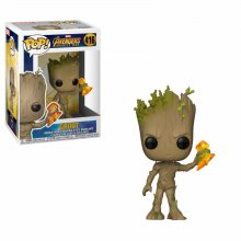 Avengers Infinity War POP! Movies Vinylová Figurka Groot with St