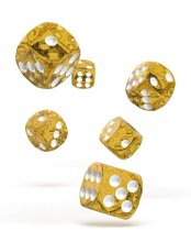 Oakie Doakie Kostky D6 Dice 16 mm Speckled - Orange (12)