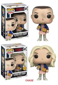 Stranger Things POP! TV Vinylové Figurky Eleven With Eggos 9 cm