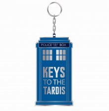 Doctor Who Metal Keychain Keys To The Tardis 7 cm