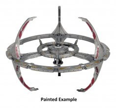 Star Trek Deep Cuts Unpainted Miniature Nor Class Orbital Space