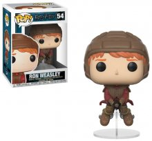 Harry Potter POP! Movies Vinyl Figure Ron on Broom 9 cm