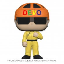 Devo POP! Rocks Vinylová Figurka Satisfaction (Yellow Suit) 9 cm