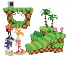 Sonic the Hedgehog Playset Dioramas prodej v sadě (6)
