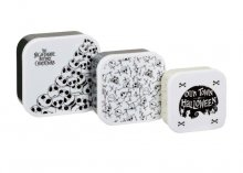 Nightmare before Christmas Kitchen Storage Set Our Town of Hallo