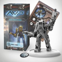 AvP Tabletop Game The Hunt Begins Expansion Pack Marine Powerloa