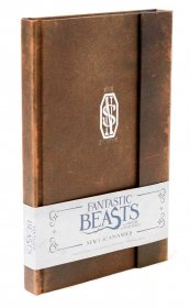 Fantastic Beasts Hardcover Ruled Journal Newt Scamander