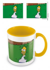 Simpsons Coloured Inner Hrnek Homer Bush