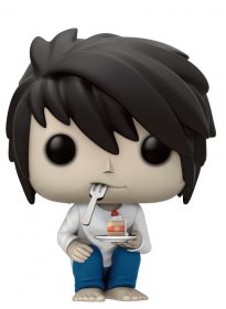 Death Note POP! Animation Vinyl Figure L with Cake 9 cm