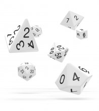 Oakie Doakie Dice RPG Set Solid - White (7)