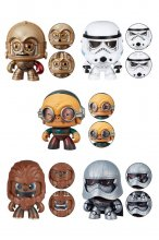 Star Wars Mighty Muggs Figures 9 cm 2018 Wave 4 Assortment (6)