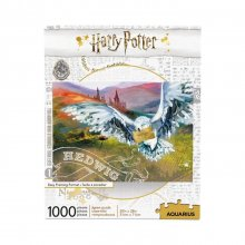 Harry Potter skládací puzzle Hedwig (1000 pieces)