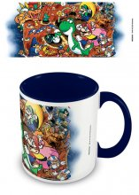 Super Mario World Coloured Inner Mug World