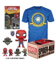 Marvel Collector Corps Box Spider-Man Homecoming Size XL