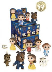 Beauty and the Beast Mystery Minis Vinyl mini figurky 6 cm Displ