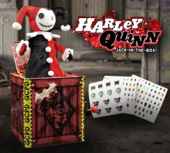 DC Comics Jack in the Box Harley Quinn 29 cm