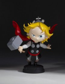 Marvel Comics Animated Series Mini-Socha Thor 12 cm