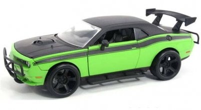 Fast & Furious 7 kovový model 1/24 2011 Letty's Dodge Challenge