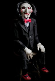 Saw autentická replika Billy Puppet 119 cm