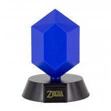 The Legend of Zelda 3D Icon světlo Blue Rupee 10 cm