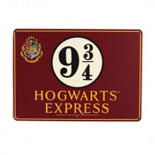 Harry Potter Tin Sign Nástupiště 9 3/4 21 x 15 cm
