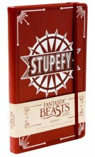 Fantastic Beasts Hardcover Ruled Journal Stupefy