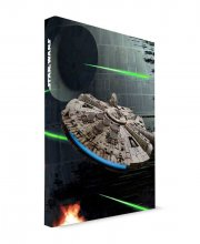 Star Wars Notebook with Sound & Light Up Millenium Falcon