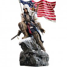 Assassin´s Creed III soška Connor Rises Freedom Edition 25 cm